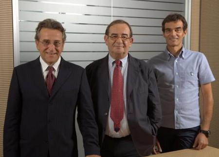 da sinistra Luciano Bagnobianchi,   Angelo Sagripanti, Claudio Sagripanti