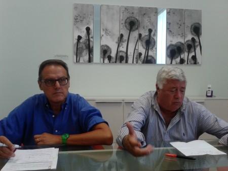 da sinistra Erminio Marinelli e Ottavio Brini