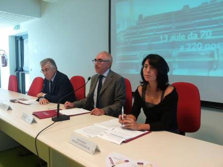 Raffaella Merlini, Luigi Lacché e Filippo Mignini presentano il nuovo corso di Mediazione Linguistica a Macerata