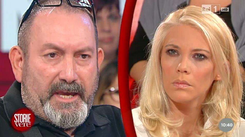 """Emilio Moretti e la conduttrice Eleonora Daniele lunedì a """"Unomattina - Storie vere"""""""