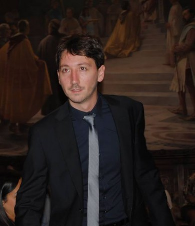 Il neo avvocato Paolo Salvucci