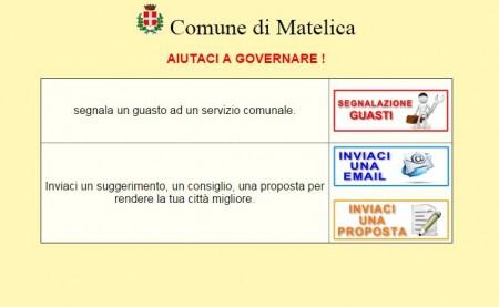 sezione sito matelica