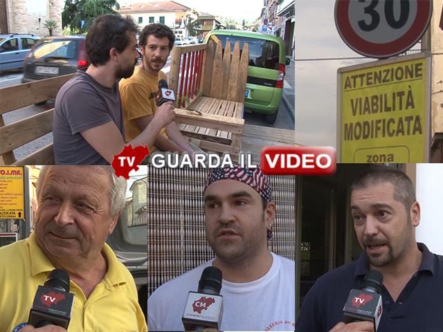 LA PARTENZA - Clicca sull'immagine per guardare il video della scorso mese con le interviste a commercianti e residenti