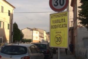 La zona 30 a Villa Potenza