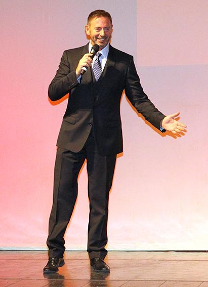 L'allenatore della Lube Alberto Giuliani