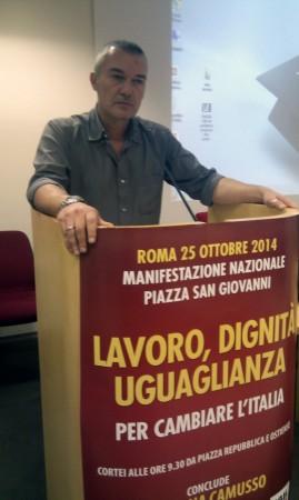 Daniele Taddei (segretario provinciale Cgil Macerata)