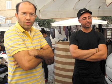 Commercianti Piazza Mazzini protesta (8)