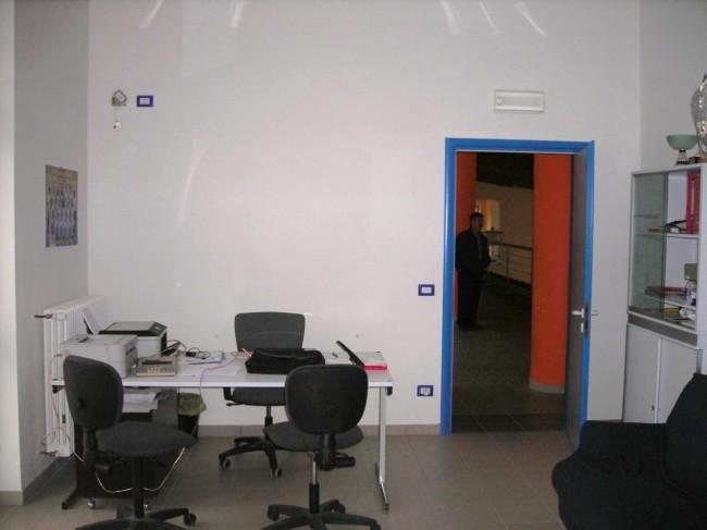La foto della sede quando è ufficio della Feba basket