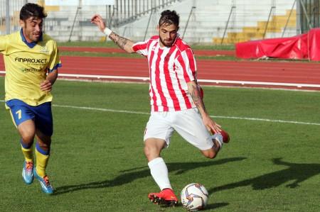 L'attaccante della Maceratese Daniele Ferri Marini