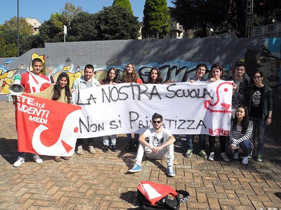 Protesta Studenti Macerata 2014 (13)
