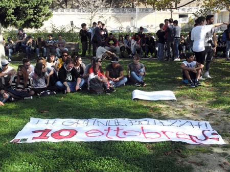 Protesta Studenti Macerata 2014 (4)