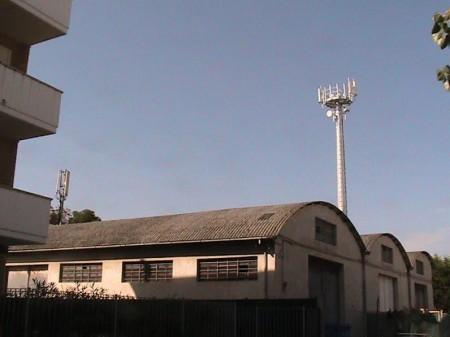 L'antenna del quartiere viale Gramsci