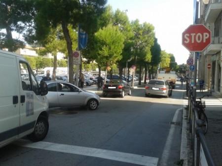 Il traffico in tilt