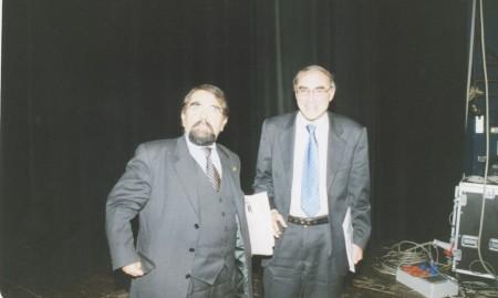 Mario Baldassarri e Venanzo Ronchetti