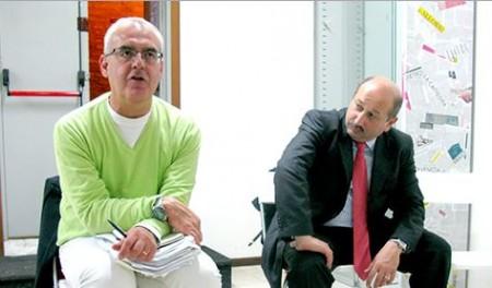 Il sindaco Romano Carancini con l'assessore Narciso Ricotta
