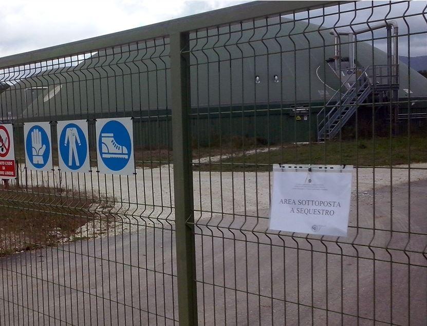 Sigilli alla centrale a biogas di Matelica