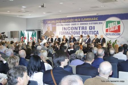 La convention Forza Italia all'Hotel Cosmopolitan di Civitanova