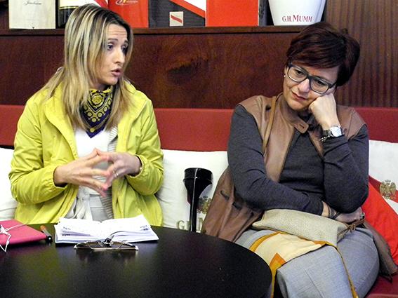 Francesca D'Alessandro e Anna Menghi