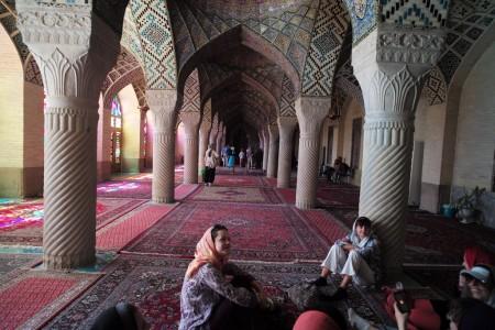 L'ingresso di una moschea