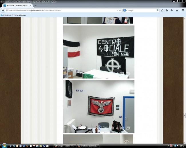 Le immagini della sede dei Leoni Neri prese dal loro sito