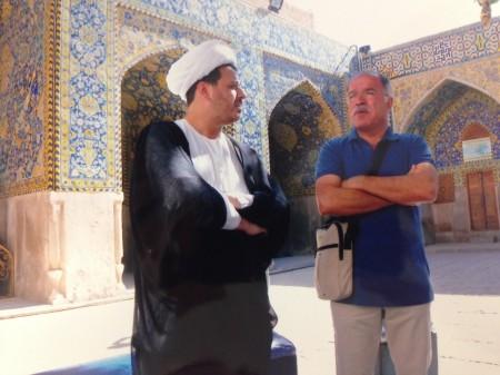 """Il """"maceratese Berzad intervista per noi l'imam di Esfahan"""