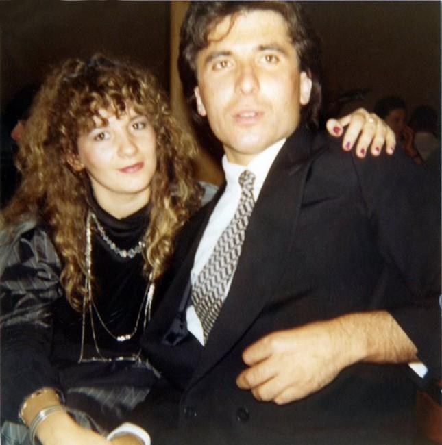 Una foto di Mario e Sonia Monachesi giovanissimi