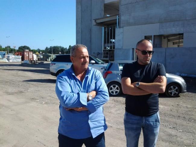 Mauro Mattucci presidente della Civita Park e Umberto Ciccarini, direttore tecnico