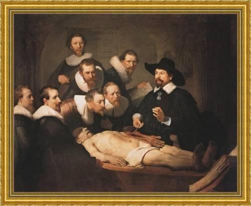 La lezione di anatomia di Rembrandt