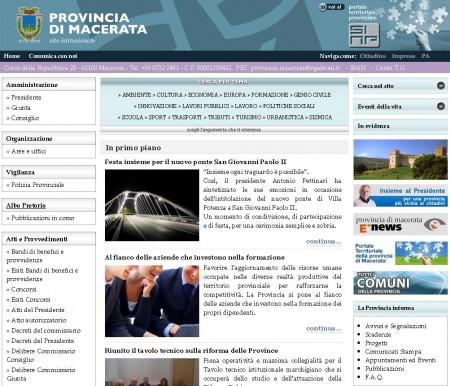 sito provincia
