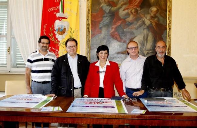 Nella foto da sinistra  D'amico, Andrenacci, Franco, Rosati, Colucci
