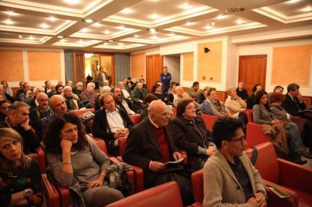 Il pubblico all'Hotel Claudiani
