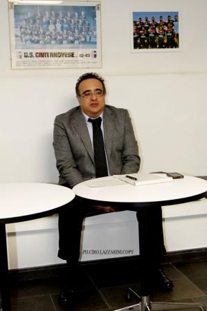 Il presidente della Civitanovese Luciano Patitucci