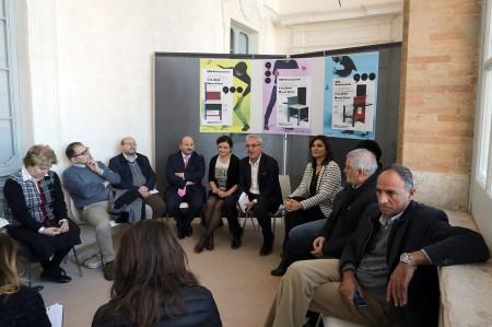 La conferenza stampa di presentazione delle sale di arte moderna