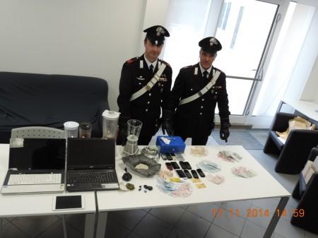 sequestro droga carabinieri