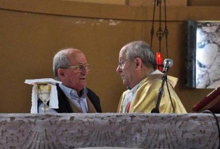 Don Ennio e Vinicio Borgogna