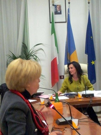 L'ex sindaco Rosalba Ubaldi in consiglio