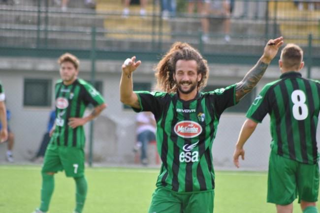 L'attaccante Vittorio Esposito oggi al Chieti
