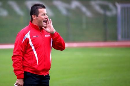 Franco Gianangeli, allenatore del Matelica