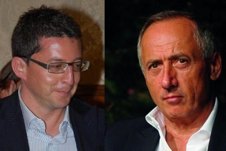 Il consigliere Giorgio Giorgi e il sindaco Filippo Saltamartini