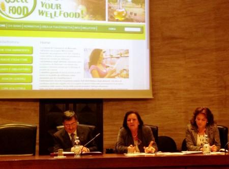 Da sinistra Zampini, Maria Leonori e Claudia Guzzini