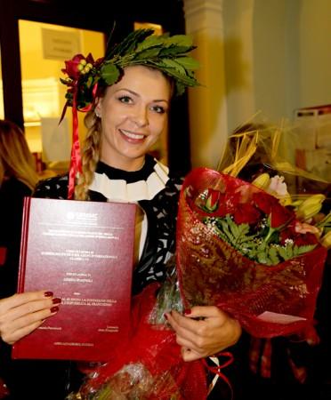 Ultime Notizie:  La lituana Aneta si laurea  in Scienze Politiche a Macerata