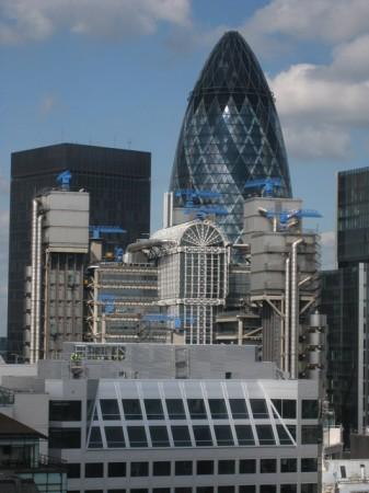 La sede dei Lloyd's di Londra