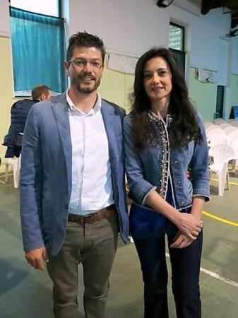 Lorenzo Riccetti e Sabrina Montali