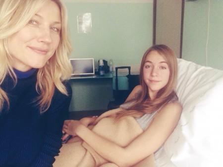 Natasha Stefanenko e sua figlia Sasha
