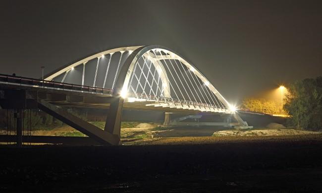 Il nuovo ponte di Villa Potenza