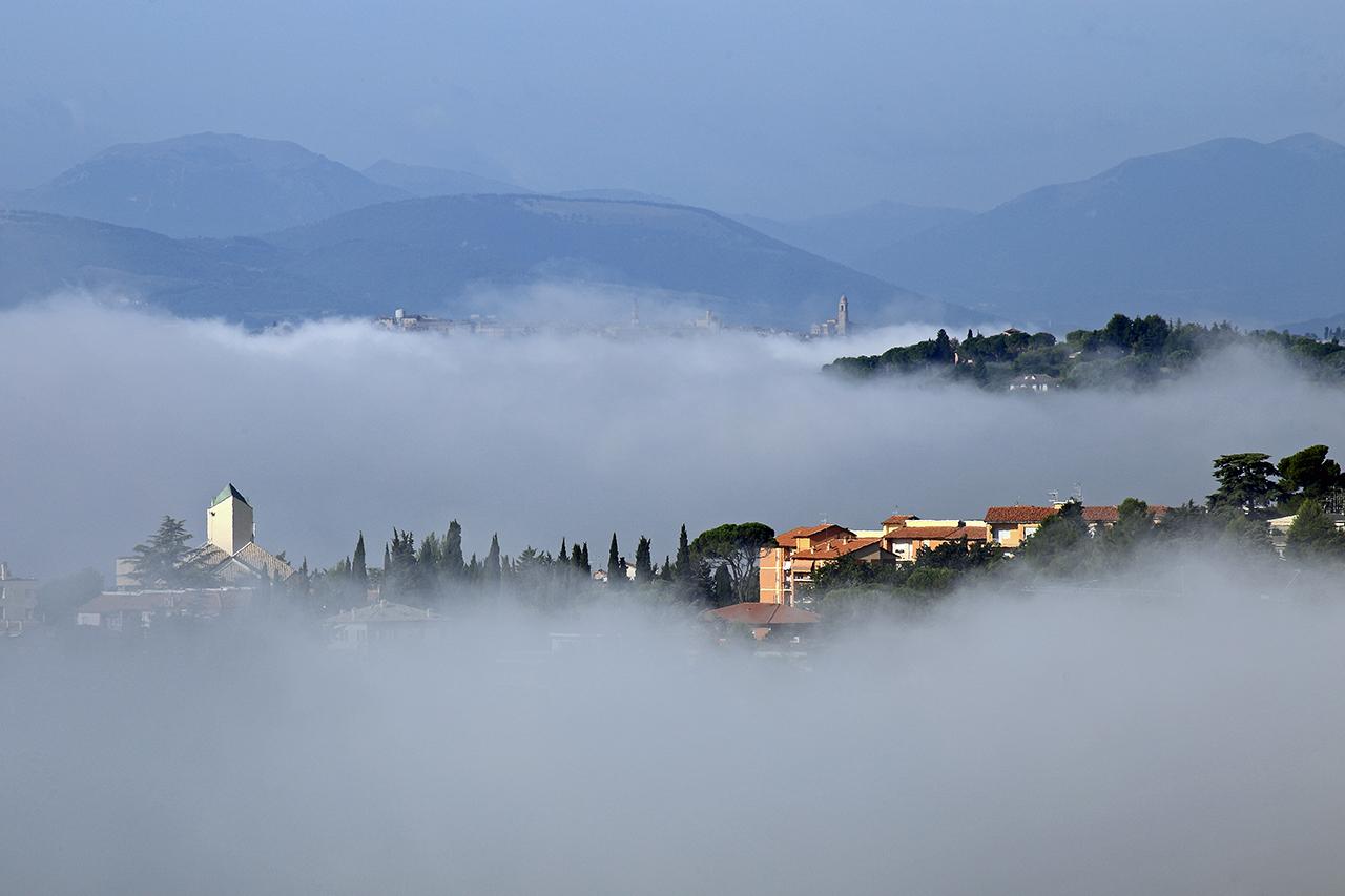 Panoramica sulla zona di San Francesco