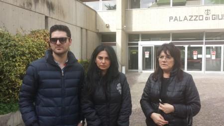 I figli di Sarchiè, Juri e Jennifer e a la moglie: chiedono giustizia