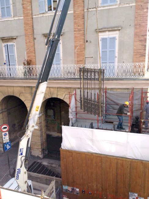 Smontaggio cancelli Macerata (3)