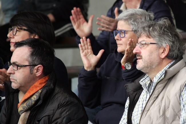 La presidentessa Maria Francesca Tardella in tribuna