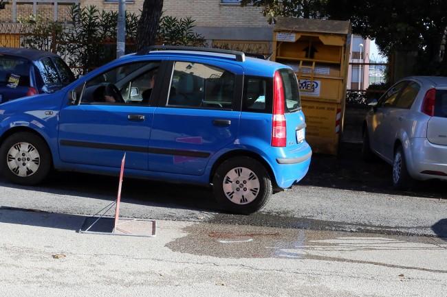Uomo investito Via Spalato Macerata (6)